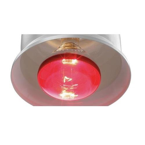Žárovka červená pro infraohřev