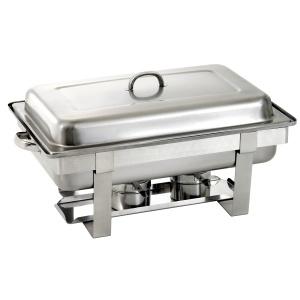 Chafing dish na hořlavou pastu GN 1/1, hloubka 65 mm