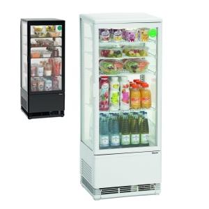Chladící minivitrína - 98 litrů
