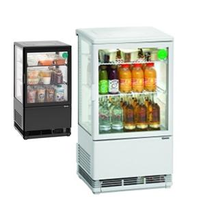 Chladící minivitrína - 58 litrů