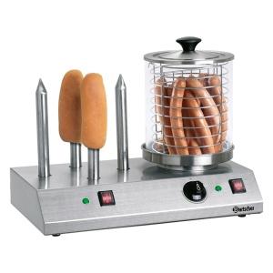 Elektrický přístroj na hotdogy - 4 speciální trny na rohlíky