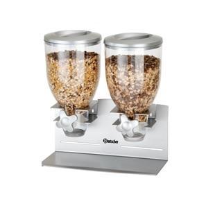Dávkovač cereálií - 2 x 3,5 litrů