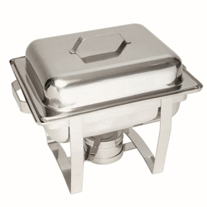 Chafing dish na hořlavou pastu GN 1/2, hloubka 65 mm