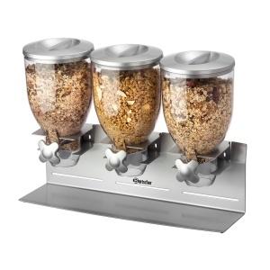 Dávkovač cereálií - 3 x 3,5 litrů