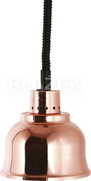 Lampa v provedení - měď (