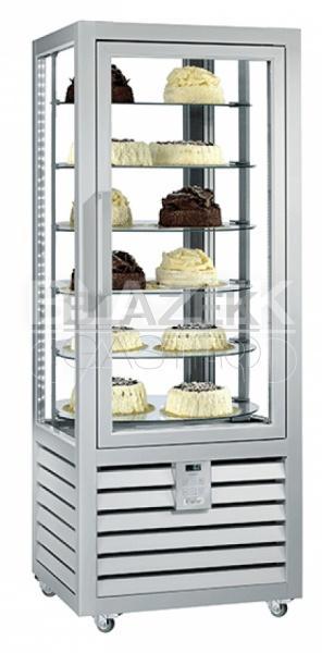 Chladící panoramatická cukrářská vitrína QUADRO NEO PSR 427 L