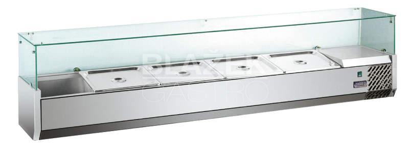 Pizza chladící pultová vitrína MVRX1200-1/3