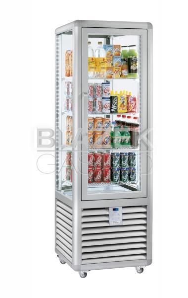 Chladící panoramatická nápojová vitrína EASY BAR EBG 427 L