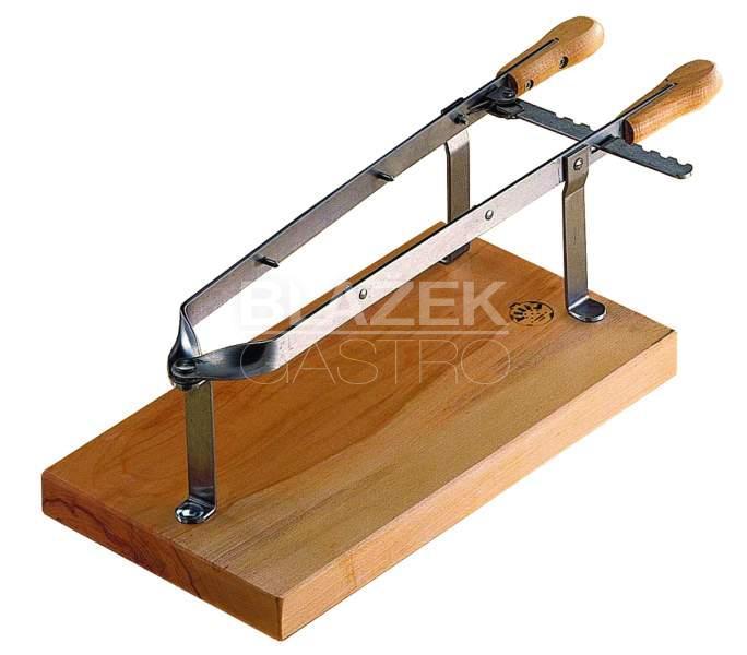 Kleště na šunku - dřevo/nerez