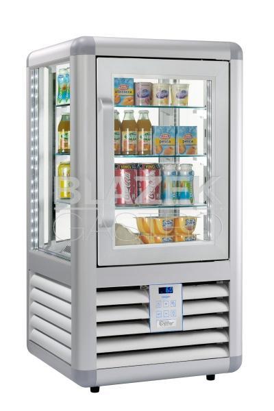 Chladící panoramatická nápojová vitrína EASY BAR V98 L