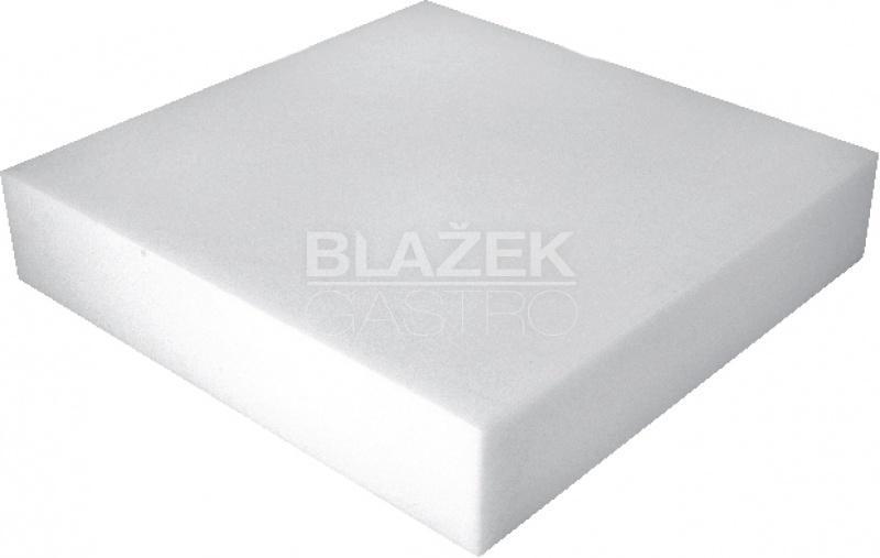 Blok porcovací 500x500x80 - bílá