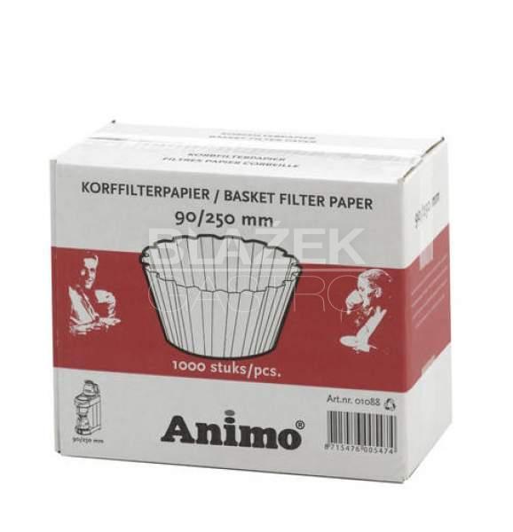 Papírový jednorázový filtr Animo (90/250)