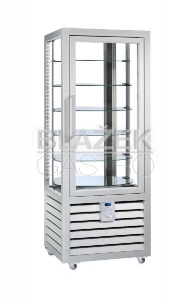 Chladící panoramatická cukrářská vitrína QUADRO NEO PSR 360 L