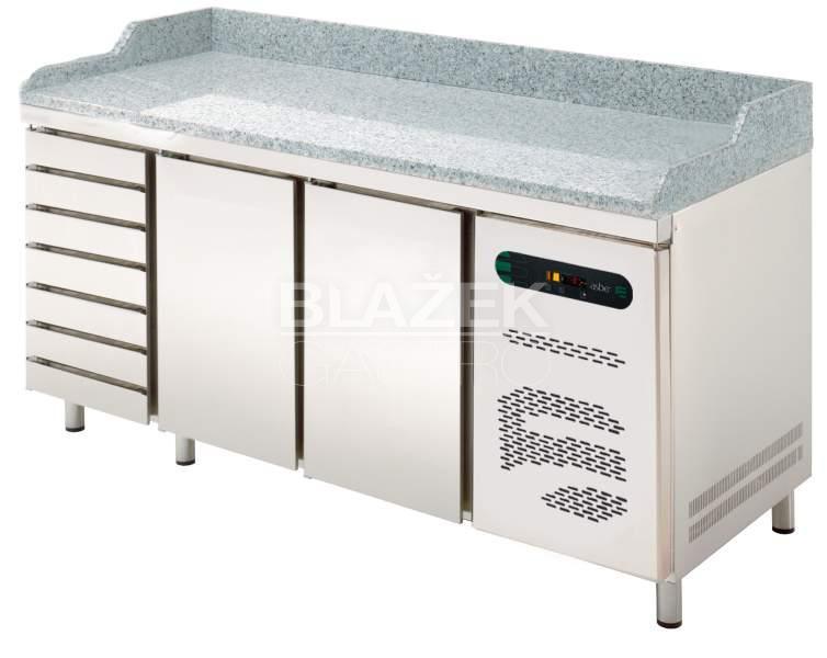 Pizza stůl Asber ETP8-200-27G