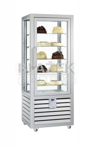 Chladící panoramatická cukrářská vitrína QUADRO NEO PSV 427 L