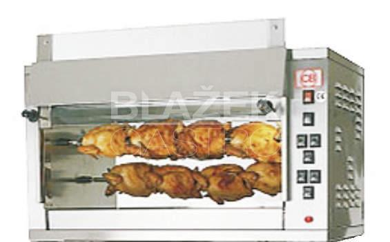 Elektrický gril na kuřata E-12 P