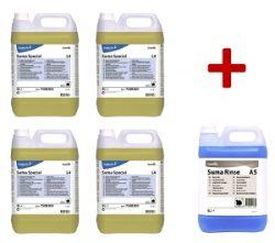 PROSTŘEDEK MYCÍ  L4 (4 x 5 litrů) + OPLACH A5 (5 litrů) ZDARMA